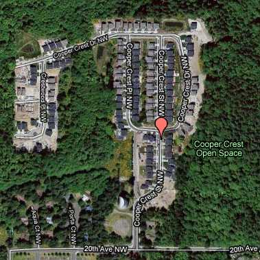 Cooper Crest Community Arial View